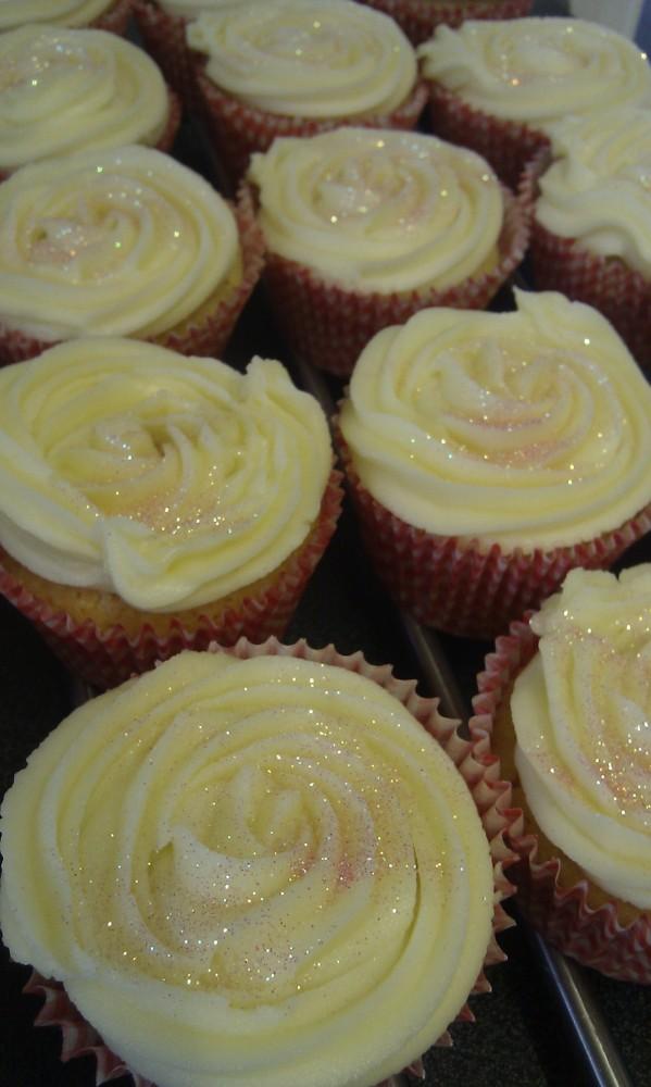 Swirly Cupcake Decorating