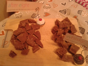 Whisky and After 8 Fudge